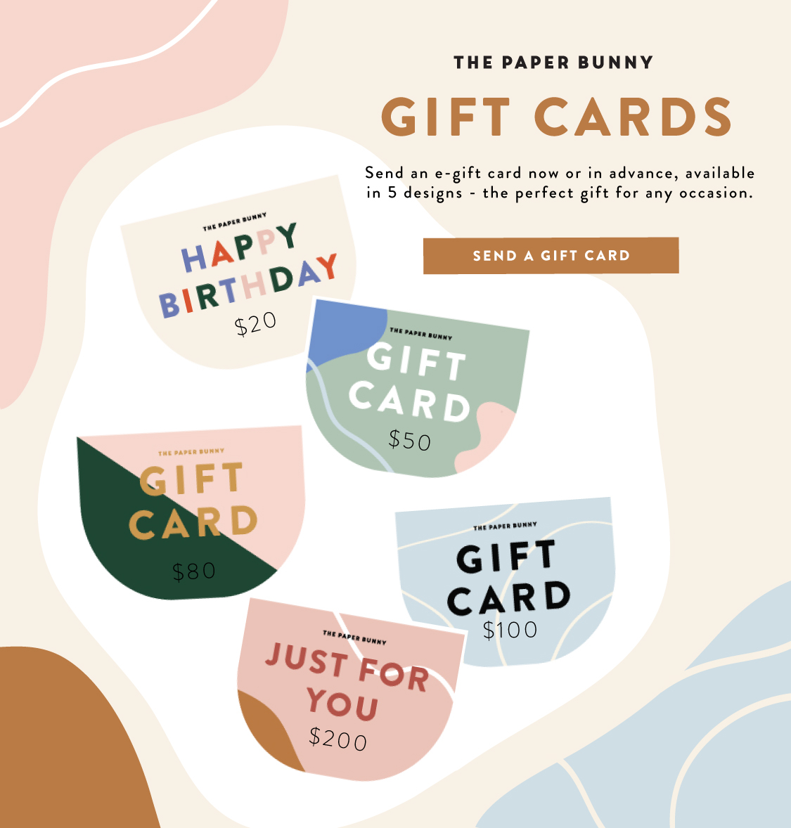 The Paper Bunny Gift Cards