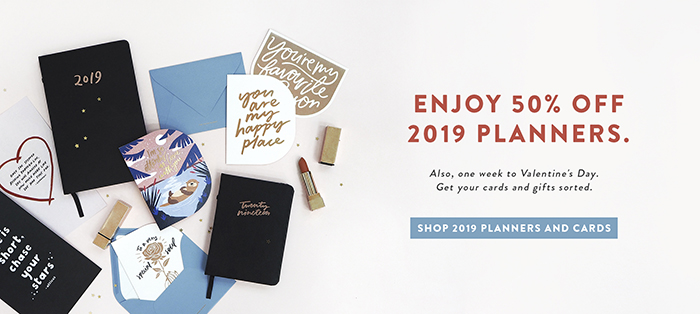 50% Off Planners