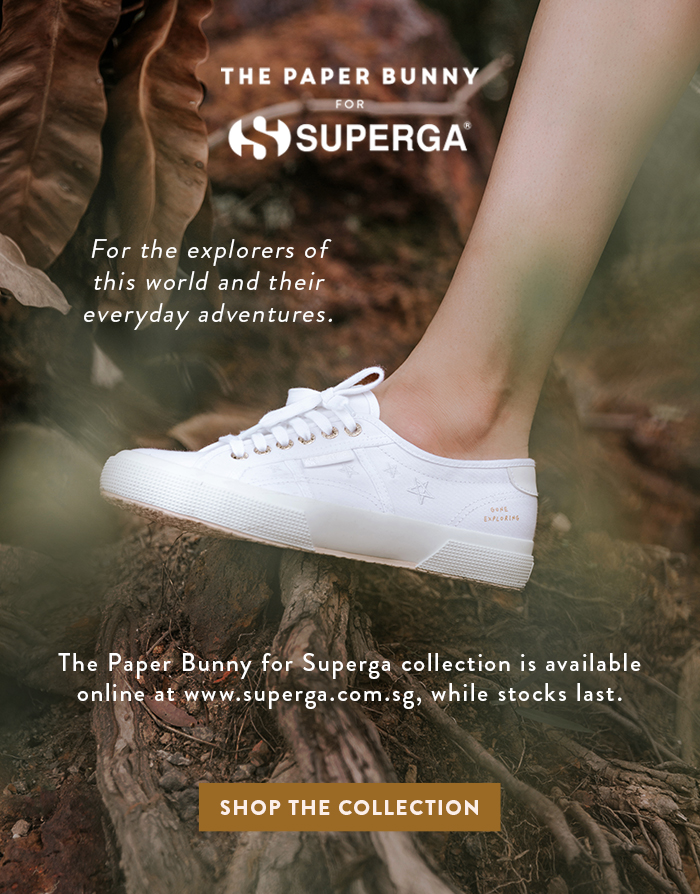 Superga x The Paper Bunny Launch