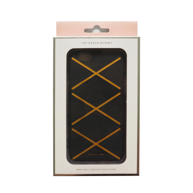 Black Lace-Up iPhone 6/6S Phone Case