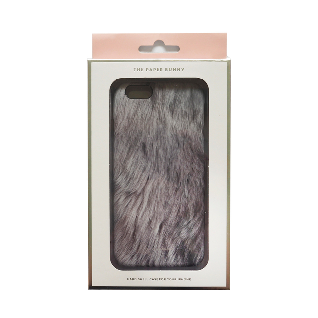 Grey Fur iPhone 6/6S Phone Case