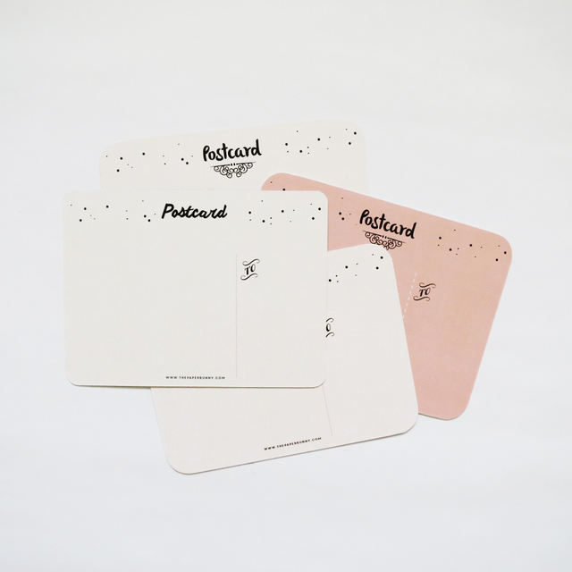 Blush Edition Postcards