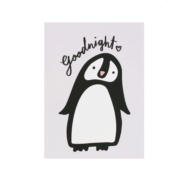 Goodnight Penguin Print