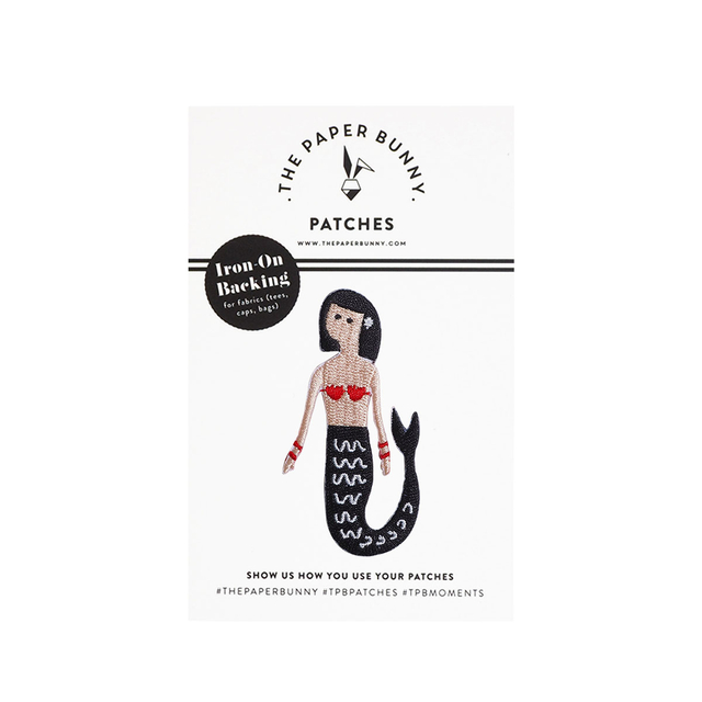 Scarlet The Mermaid Patch