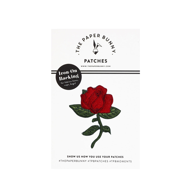 Midnight Rose Patch
