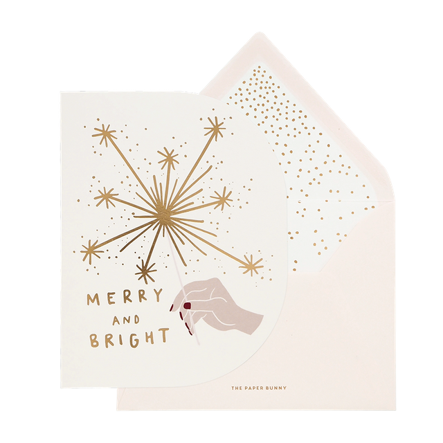 Merry & Bright Sparklers Card