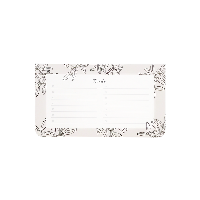 Olive Leaves Notepad