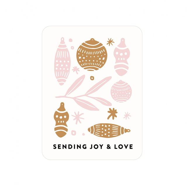 Festive Love Edition Postcards