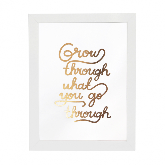 Grow Through Print (Foil)