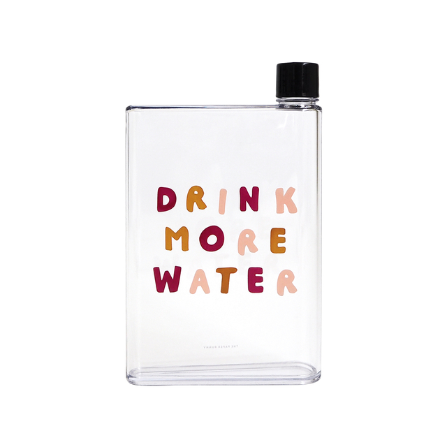 Drink More Water Water Bottle