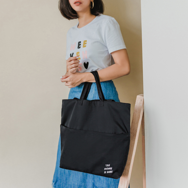 The Future Is Ours Tote Bag