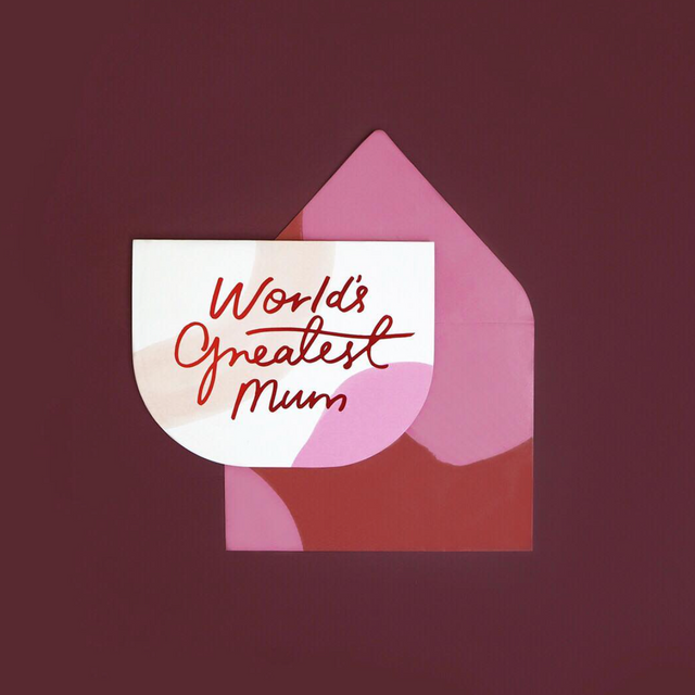 World's Greatest Mum Card