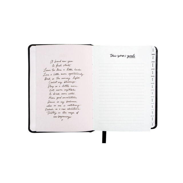 Compact Black 2019 Planner