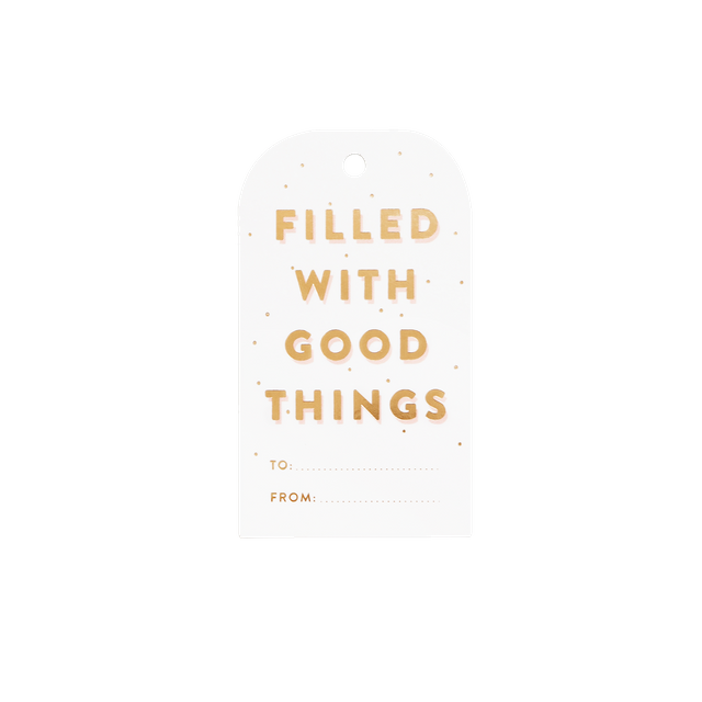 Good Things Gift Tags (Set of 8)