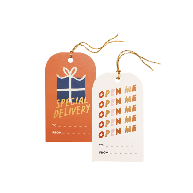 Special Delivery Gift Tags (Set of 8)
