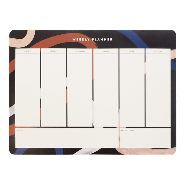 Luna Weekly Desk Planner