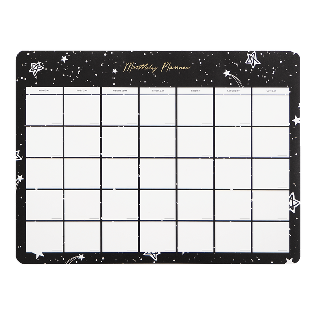 Nova Monthly Desk Planner