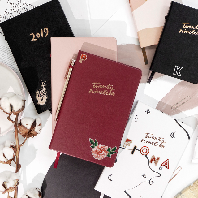 2019 PLANNER + PATCH SET (PICK YOUR OWN!)