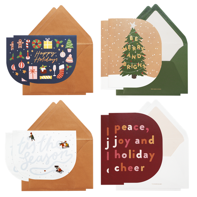 The Winter Collection Boxed Set of 8 Cards