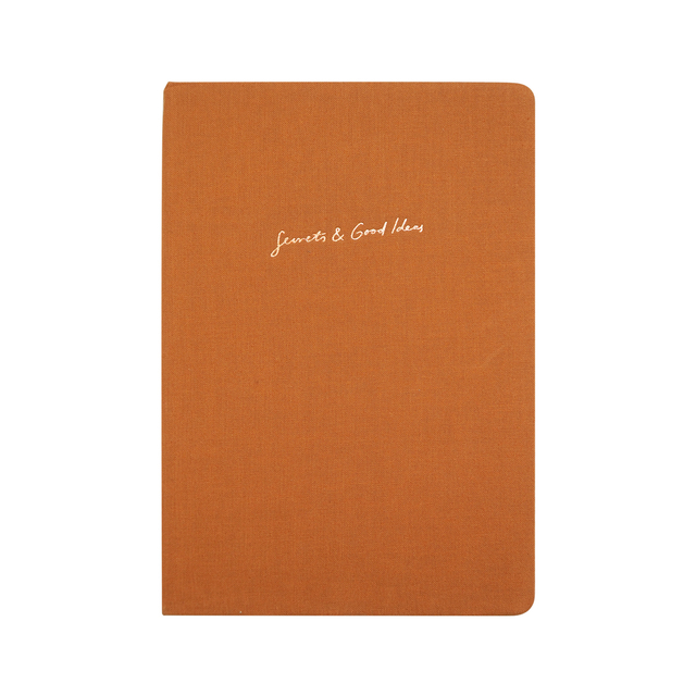 Secrets and Good Ideas A5 Notebook