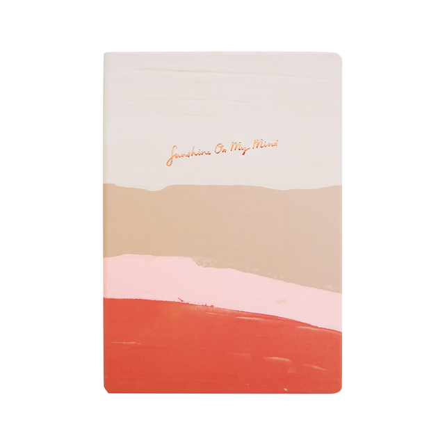 Sunshine on My Mind A5 Notebook