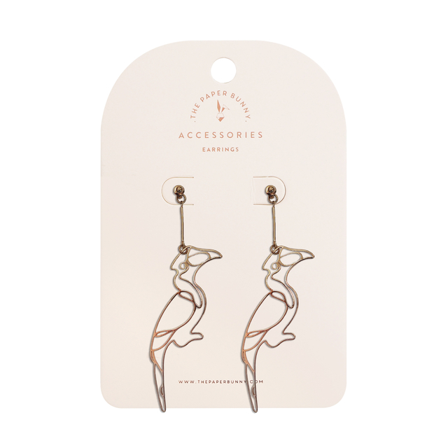 Hornbill Earrings