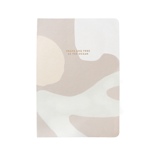 As Brave As the Ocean A5 Notebook