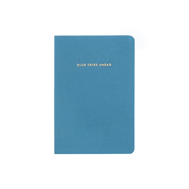 Blue Skies Ahead Notebook