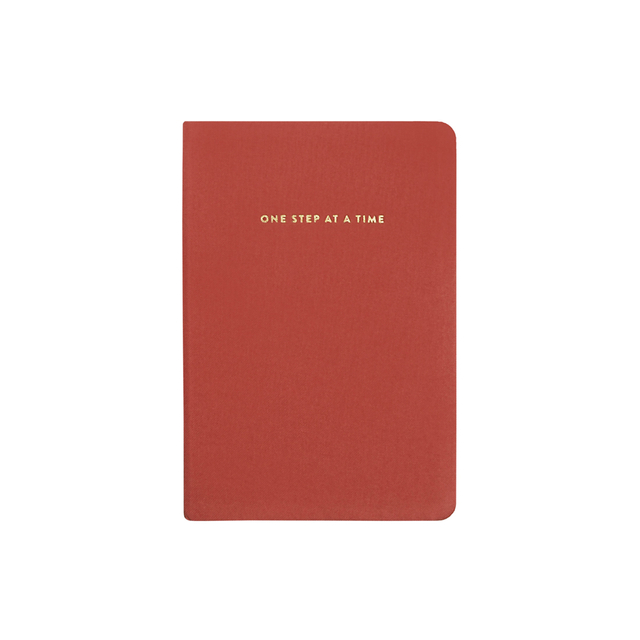 One Step At A Time Notebook
