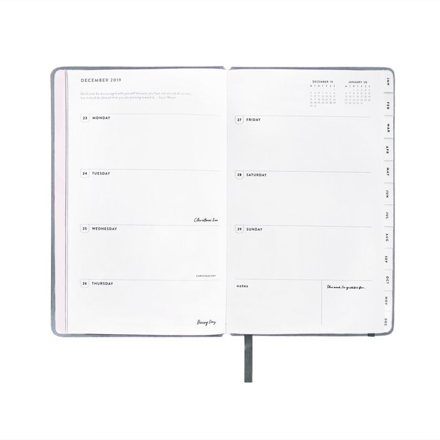 Regular Ash Blue 2020 Planner