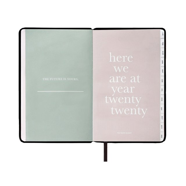 Regular Black 2020 Planner