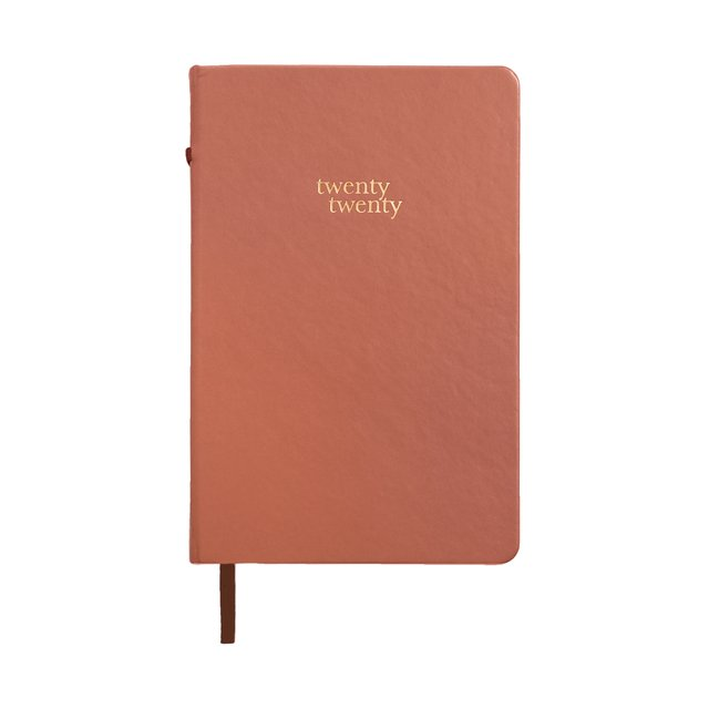 Regular Terracotta 2020 Planner