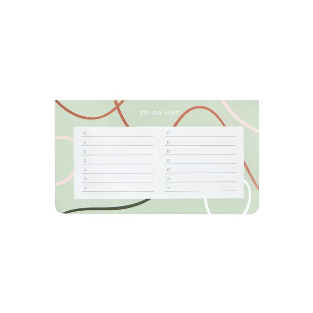 Bailey Seafoam Notepad