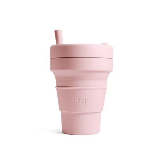 Stojo Collapsible Cup Biggie 16oz/470ml (Carnation)