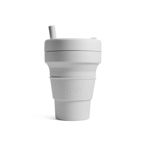Stojo Collapsible Cup Biggie 16oz/470ml (Cashmere)