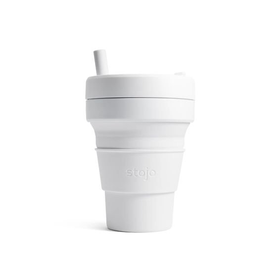 Stojo Collapsible Cup Biggie 16oz/470ml (Quartz)