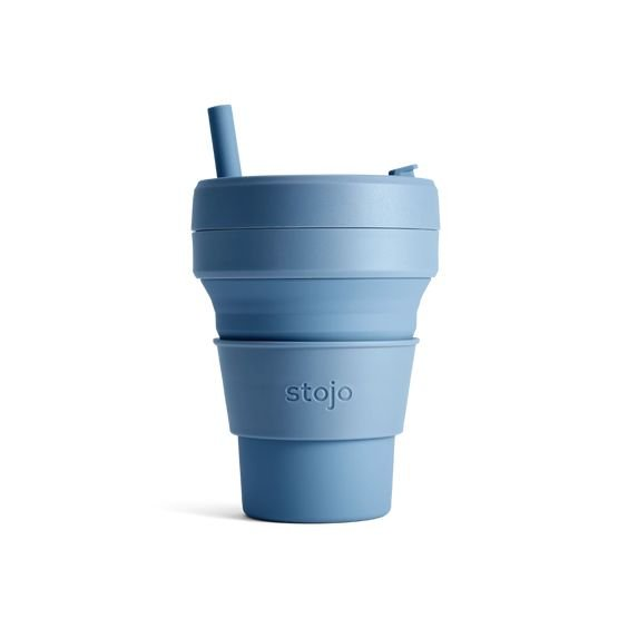 Stojo Collapsible Cup Biggie 16oz/470ml (Steel)