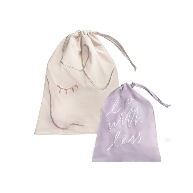 Cara Cream Laundry Bag Set