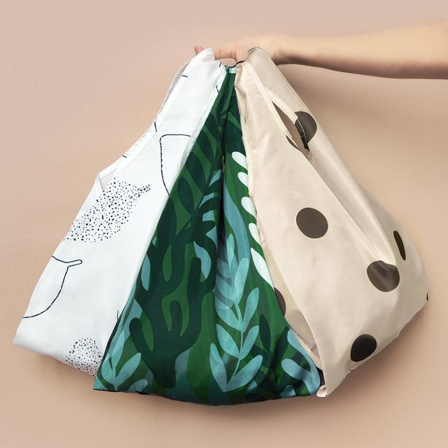 Polka Dot Reusable Bag