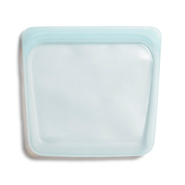 Stasher Reusable Silicone Sandwich Bag (Moonstone)