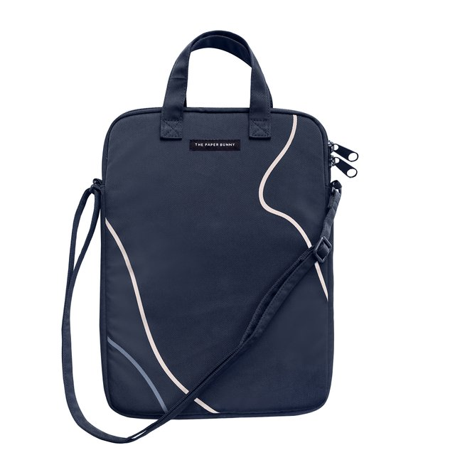 Boy Blue Laptop Bag