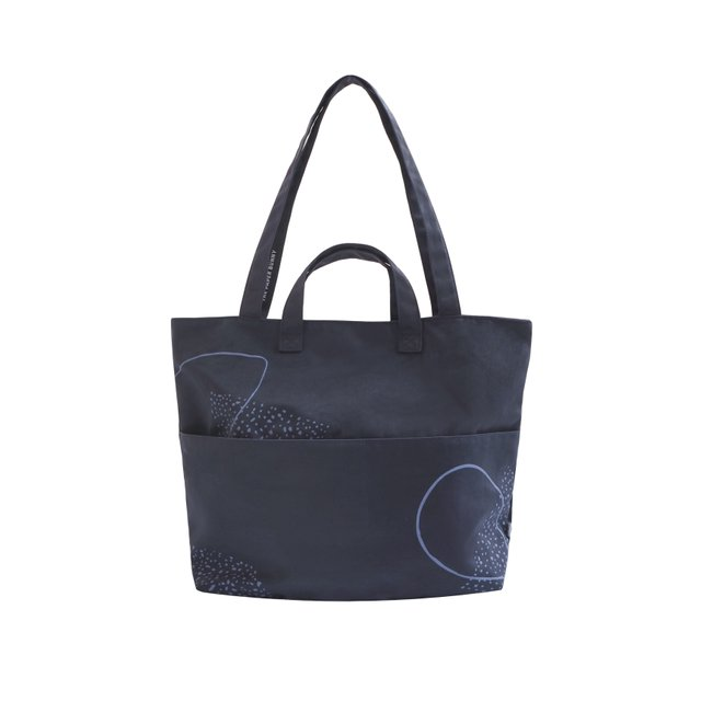 Faye Blue Tote Bag