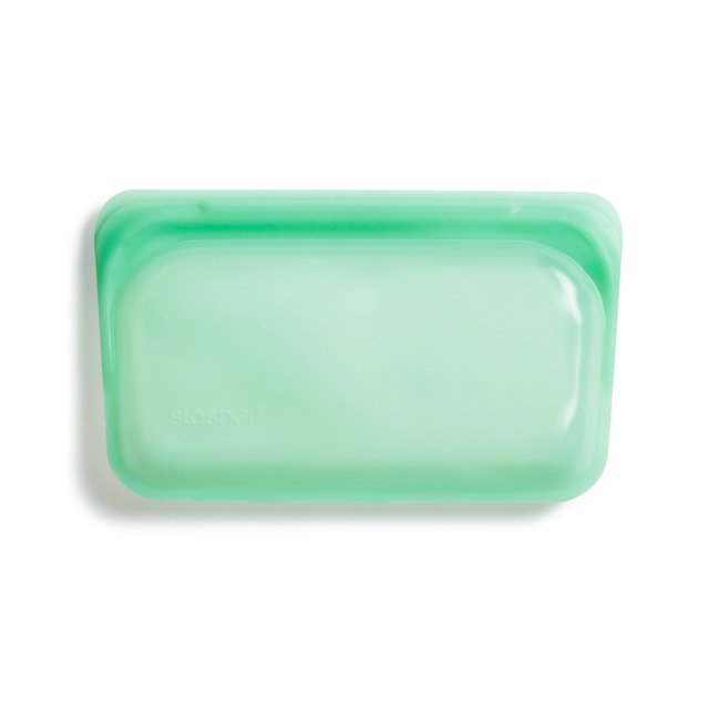 Stasher Reusable Silicone Snack Bag (Mint)