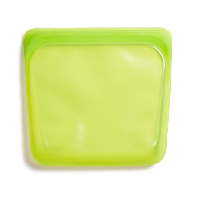 Stasher Reusable Silicone Sandwich Bag (Lime)