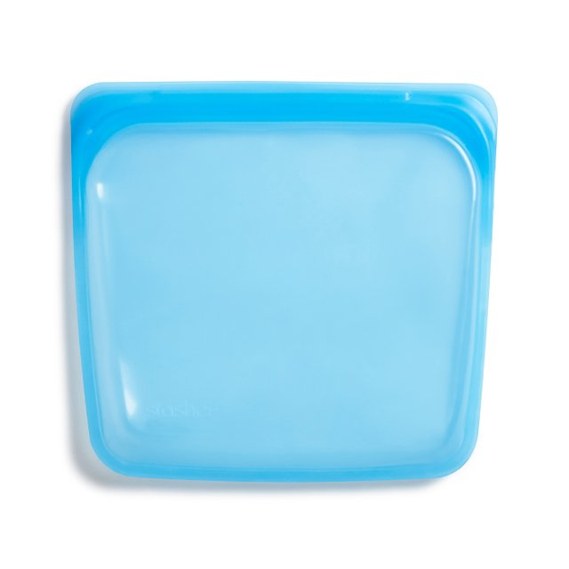 Stasher Reusable Silicone Sandwich Bag (Topaz)