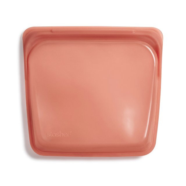 Stasher Reusable Silicone Sandwich Bag (Terracotta)