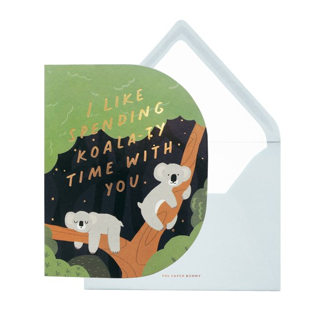 Koala-ty Time Greeting Card