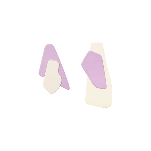 Kayla Lilac Earrings