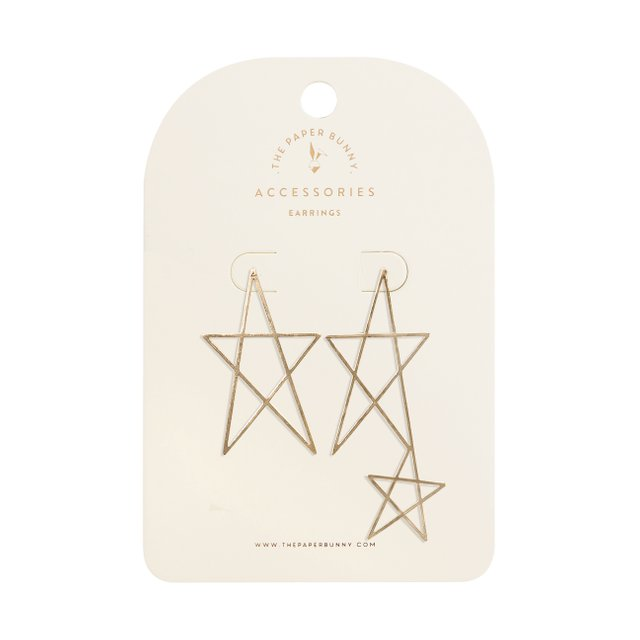 Maison Star Earrings