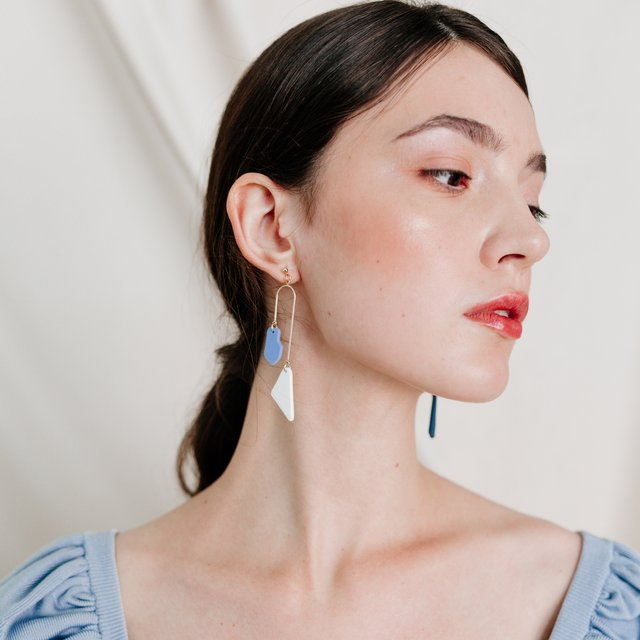 Poppy Blue Earrings